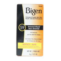 Bigen Permanent Powder Hair Color 59 Oriental Black 1 ea [033859905592]