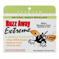 Buzz Away Insect Repellent Towelettes 12 ea [046985071024]