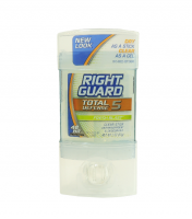 Right Guard Total Defense 5 Anti-Perspirant Deodorant Clear Stick, Fresh Blast 2 oz [017000000220]
