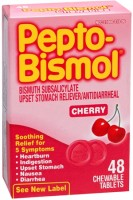 Pepto-Bismol Tablets Cherry 48 Tablets [301490039793]