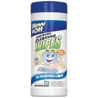 Blow Off Electronic Cleaning Wipes 40 ea [752080002091]