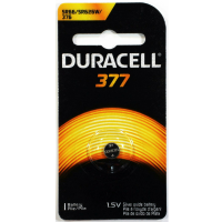Duracell Silver Oxide Battery Watch/Electronic 1.5 Volt 377 1 Each [041333177090]