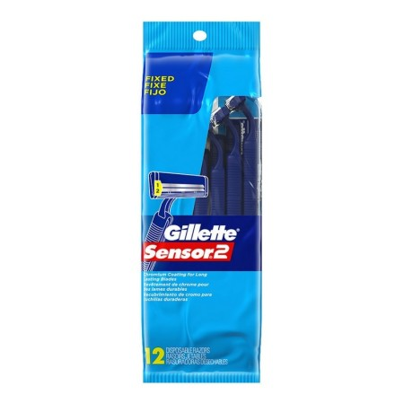 Gillette Sensor2 Disposable Razors 12 ea. [047400125988]