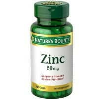 Nature's Bounty Zinc 50 mg Caplets 100 ea [074312020605]