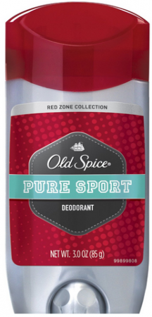 Old Spice Old Spice Red Zone Deodorant Solid, Pure Sport 3 oz [012044037508]