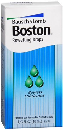 Bausch & Lomb Boston Rewetting Drops 10 mL [047144055091]