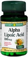 Nature's Bounty Alpha Lipoic Acid 100 mg Capsules 30 Capsules [074312060052]