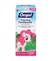Orajel Toddler My Little Pony Training Toothpaste, Pinky Fruity 1.5 oz [310310324636]