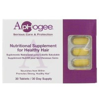 Aphogee Nutritional Supplement For Healthy Hair 30 ea [015228131177]