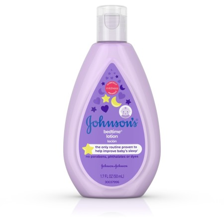 Johnson's  Bedtime Baby Lotion with NaturalCalm Essences, Hypoallergenic & Paraben Free 1.7 oz [381371174591]