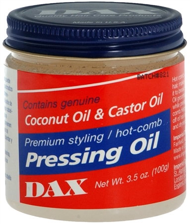 Dax Pressing Oil 3.50 oz [077315001022]