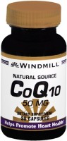 Windmill CoQ10 50 mg Capsules Natural Source 30 Capsules [035046004316]