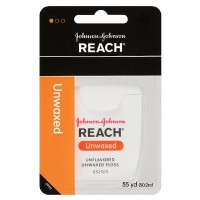 REACH Unflavored Unwaxed Floss 55 yd [381370092155]