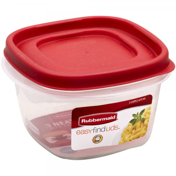 Rubbermaid Easy Find Lid Food Storage Container 2 Cup 1 ea StocknGo