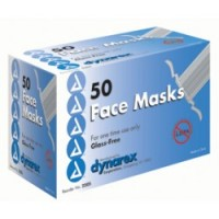 Dynarex Free Surgical Face Mask with Tie-On 50 ea [616784220529]