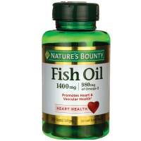 Nature's Bounty Fish Oil 1360 mg Softgels Triple Strength 39 ea [074312194047]