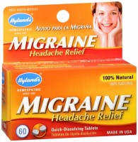 Hyland's Migraine Headache Relief Quick-Dissolving Tablets 60 Tablets [354973301313]