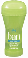 Ban Cool Sport Anti-Perspirant Deodorant, Clear Gel 2.25 oz [019045050055]