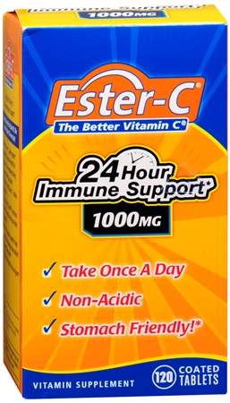 Ester-C 1000 mg Coated Tablets 120 Tablets [025077169825]