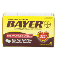 Bayer Aspirin 325 mg Tablets 24 ea [312843555365]