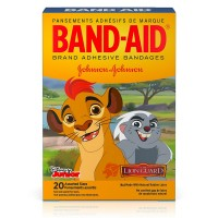 BAND-AID Disney Junior Adhesive Bandages, The Lion Guard, Assorted Sizes 20 ea [381371166619]