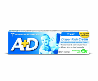 A+D Zinc Oxide Diaper Rash Cream with Aloe 4 oz [041100811325]