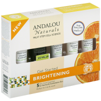 Andalou Naturals Get Started Brightening Kit For Normal & Combination Skin 1 ea [859975002713]