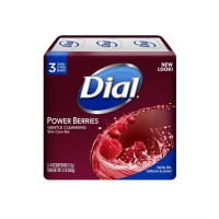 Dial Gentle Cleansing Power Berries Skin Care Bar , 4 oz bars, 3 ea [017000039008]
