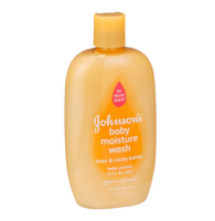JOHNSON'S Baby Moisture Wash, Shea & Cocoa Butter 15 oz [381370024941]