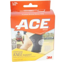 ACE Compression Knee Support LG/XL 1 Each [051131203785]