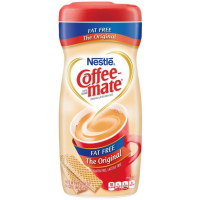 Cofee-Mate Fat Free Coffee Creamer, Original 16 oz [050000306220]