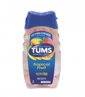 TUMS E-X 750 Tablets Assorted Tropical Fruit 96 ea [307667391961]