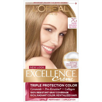 L'Oreal Paris Excellence Creme Haircolor, Dark Golden Blonde [7G]  (Warmer) 1 ea [071249210666]