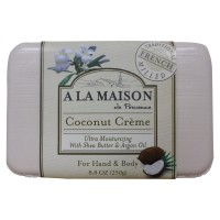 A LA MAISON Coconut Creme Soap 8.8 oz [817252011018]