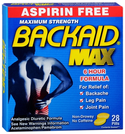 BACKAID Pills 28 Tablets [072959530280]