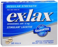 Ex-Lax Pills Regular Strength 30 Each [300670003302]