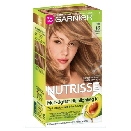 Garnier Nutrisse Haircolor - Multi-Lights H2 Golden Blonde 1 Each [603084245277]