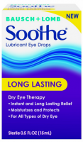 Bausch + Lomb Soothe Long Lasting Lubricant Eye Drops 0.5 oz [310119544013]