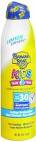 Banana Boat Kids Continuous Lotion Spray Sunblock SPF 30 6 oz [079656044799]