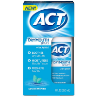 ACT Dry Mouth Spray, Soothing Mint 1 oz [041167094129]