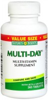 Nature's Bounty Multi-Day Multivitamin Tablets 365 Tablets [074312015748]