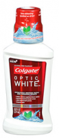 Colgate Optic White Mouthwash Sparkling Fresh Mint 8 oz [035000671103]