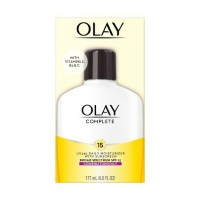 OLAY Complete UV 365 Daily Moisturizer Broad Spectrum SPF 15, Combination/Oily 6 oz [075609000034]