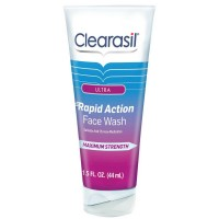 Clearasil Ultra Rapid Action Daily Face Wash 1.5 oz [839977006445]