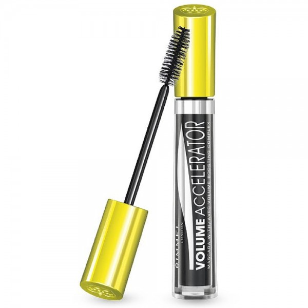25d2f014f29 Rimmel London Volume Accelerator Mascara, Black [001] 0.23 oz  [3607342282421]