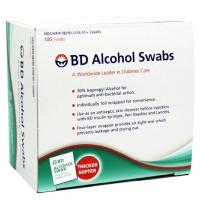 BD Alcohol Swabs 100 Each [382903268955]