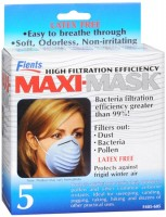 Flents Maxi-Masks 5 Each [023185056051]