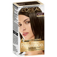 L'Oreal Paris Superior Preference Fade-Defying Color + Shine System, Dark Ash Brown (Cooler) [4A] 1 ea [071249253045]