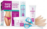 SURGI-CARE Brazilian & Body Wax Kit  1 ea [074764825391]