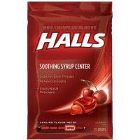 Halls Plus Drops Menthol, Cherry 25 ea [312546629202]